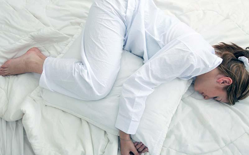 Pillow Hugger Position