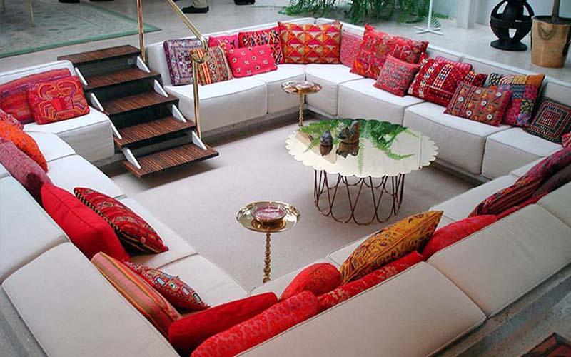Use Decorative Pillows