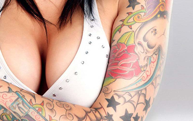 Sexy places to put tattoos