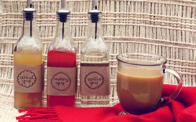 Make Your Own Syrup Flavorings