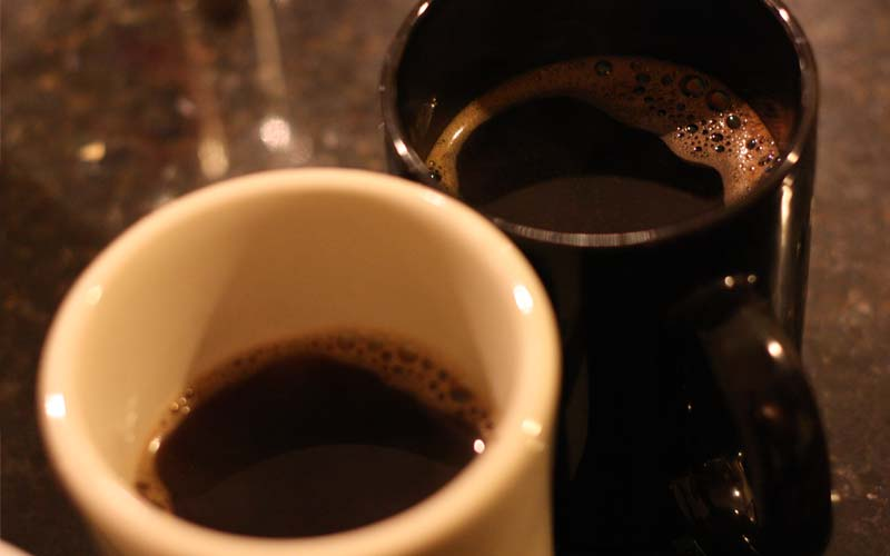 Use Salt on Bitter Coffee