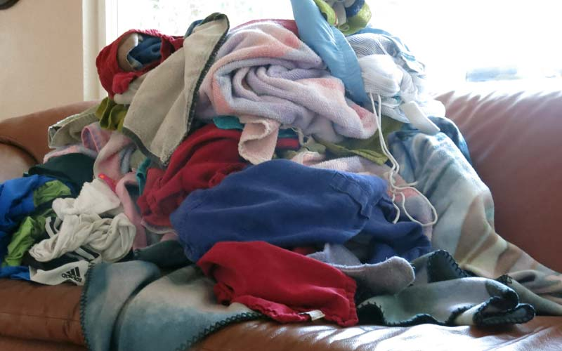 Help Us With Laundry