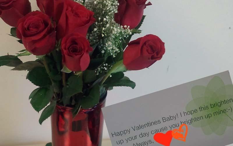 Send Us Flowers At Work